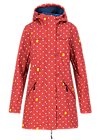 Soft Shell Parka wild weather long anorak, wellington boots, Jackets & Coats, Red