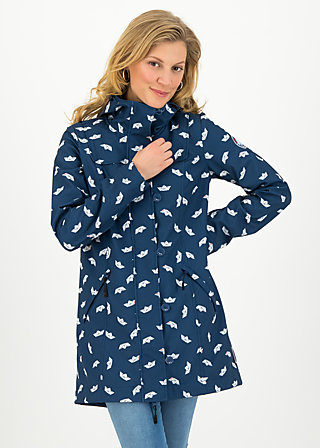 wild weather long anorak, bonnies ocean, Jackets & Coats, Blue