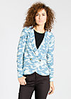 eclectic cuckoo cardy, great glacial, Cardigans, Blau