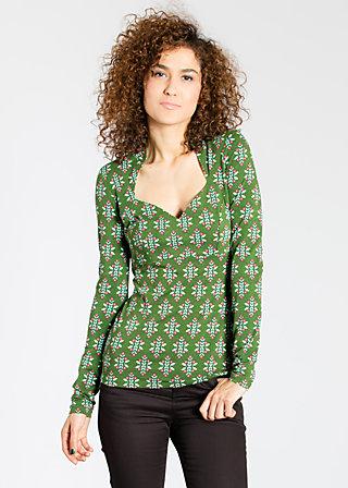 pow wow vau shirt, icing tap, Shirts, Grün
