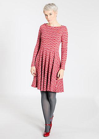 saint sophia sailor dress, vulcan dance, Jerseykleider, Rot