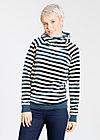 schmuse operator hoody, stripe the sky, Pullover & Hoodies, Blau