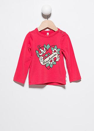 backbord longsie, asian pink, Shirts, Rot