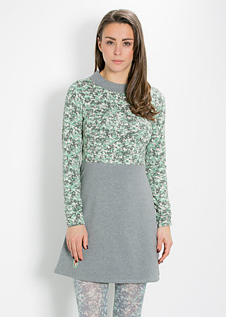 matrosinnen short dress, stormy ocean, Jerseykleider, Grau
