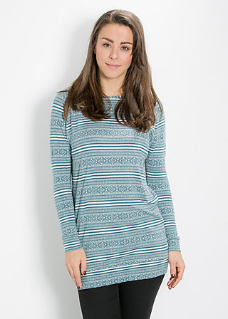 buttje buttje longsweat, blue lighthouse, Pullover, Blau