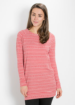buttje buttje longsweat, red lighthouse, Pullover, Rot