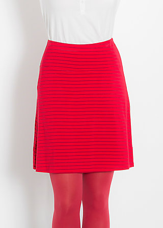 fisch am haken skirt, sailor stripes, Jerseyröcke, Rot
