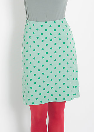 fisch am haken skirt, woodruff dots, Skirts, Grün
