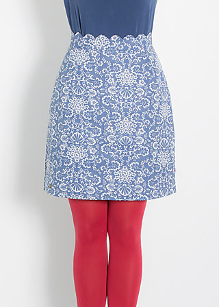 fishers fritze jupe, beach walk finds, Skirts, Blau