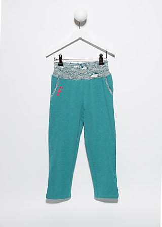 homeport princess pants, deep sea, Trousers, Blau
