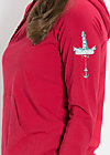hummel hummel hoody, delicious red, Pullover, Rot