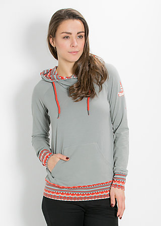 hummel hummel hoody, autumn gray, Pullovers, Grün
