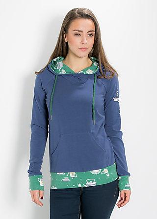 hummel hummel hoody, blue hour, Pullover, Blau
