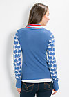 kojenherz cardy, pull the anchor, Cardigans, Blau