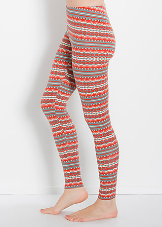 landungssteg legs, seaweed stripes, Leggings, Grau