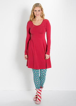 logo dress, delicious red, Kleider, Rot