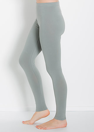 logo leggins, autumn gray, Leggings, Grau