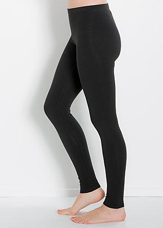 logo leggins, classy black, Leggings, Schwarz