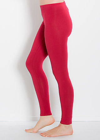 logo leggins, delicious red, Leggings, Rot