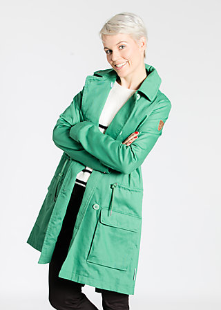 loveboat pea coat, irish green, Jackets, Grün