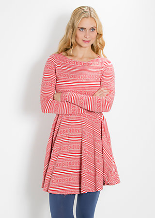 lure of the harbour dress, red lighthouse, Kleider, Rot