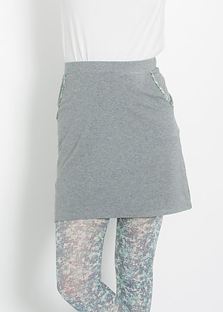 reling rose skirt, grey sky, Röcke, Grau