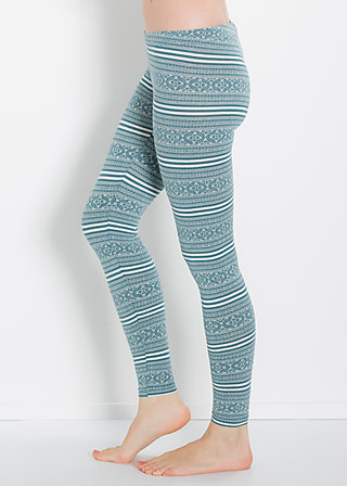 sailors knot knitpants, blue lighthouse, Leggings, Blau