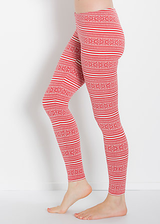 sailors knot knitpants, red lighthouse, Leggings, Rot