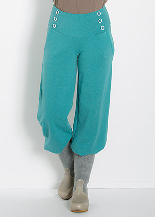 so long sailorette pants, deep sea, Stoffhosen, Blau