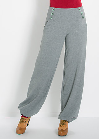 so long sailorette pants, grey sky, Hosen, Grau
