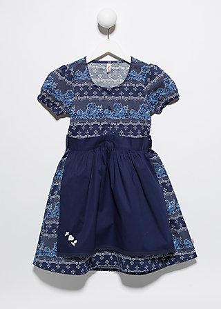 zauberzopf dirndl, pretty porcelain, Dresses, Blau