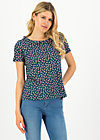 botanical bubi blouse, beach berry, Blouses & Tunics, Blue