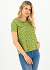 botanical bubi blouse, borlando berry, Blouses & Tunics, Green