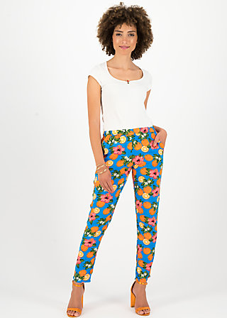 careless lightweight pants, florida lady, Trousers, Blue