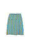 Jersey Skirt cloche du soleil, tendril tarzan, Skirts, Blue