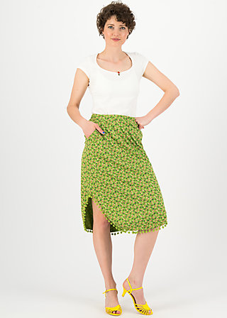 coast to coast jupe, borlando berry, Skirts, Green