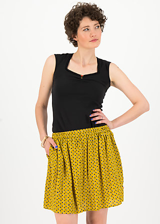 flirty flatter skirt, palm springs, Röcke, Gelb