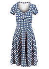 Sommerkleid heart on fire, fresh breeze, Kleider, Blau
