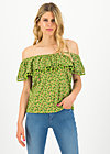 oh la lure shirt, borlando berry, Shirts, Green
