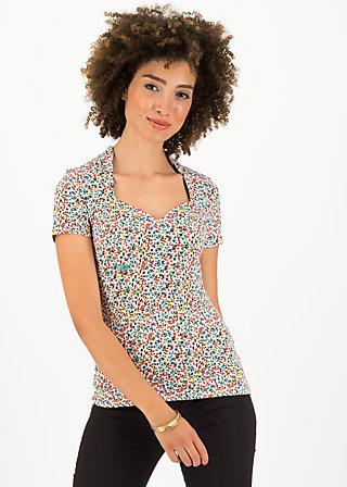 pow wow heart shirt, fine flower, Shirts, Weiß