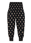 pump it up pants, miami masque, Hosen, Schwarz