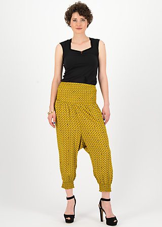 pump it up pants, palm springs, Trousers, Yellow
