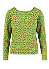 Sweater pure cure, borlando berry, Pullover & Sweatshirts, Grün