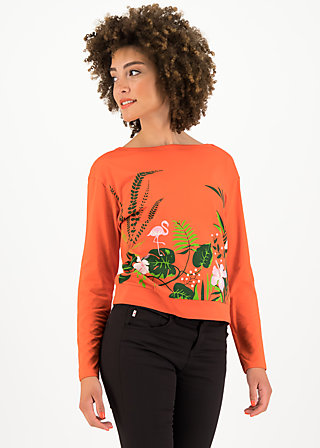 Sweater pure cure, tropical heat, Pullover & Sweatshirts, Rot
