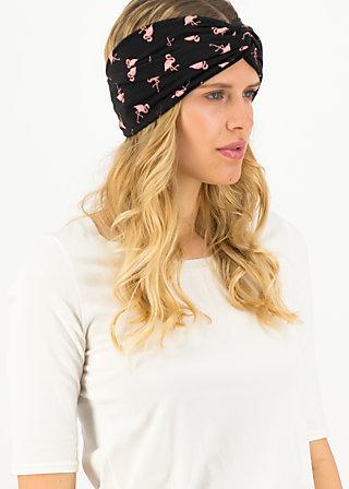sunset knot hairwrap, flowmingo, Accessoires, Black