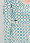 airstream allure robe, gray starshower, Kleider, Blau