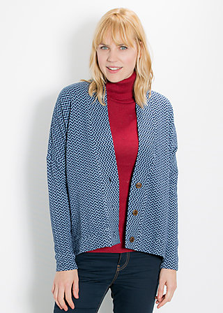 carry me home cardy, sky waves, Cardigans, Blau