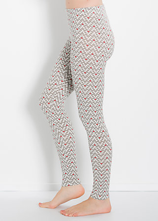 flottes fahrgestell legsters, flying heartbeat, Leggings, Grau
