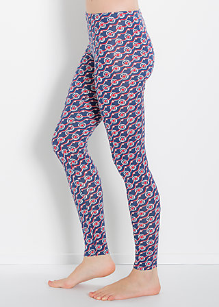 flottes fahrgestell legsters, star keeper, Leggings, Blau