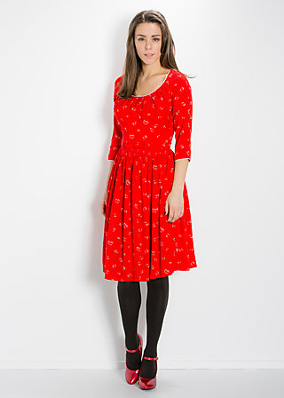 fly to the sky dress, roses and planes, Kleider, Rot